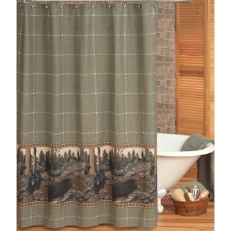 Blue Ridge Trading The Bears Shower Curtain And Liner