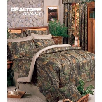 Realtree Hardwoods Queen Sheet Set