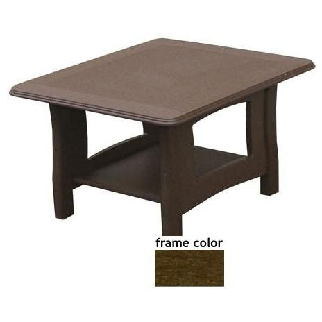 Eagle One Recycled Plastic Newport End Table - Brown