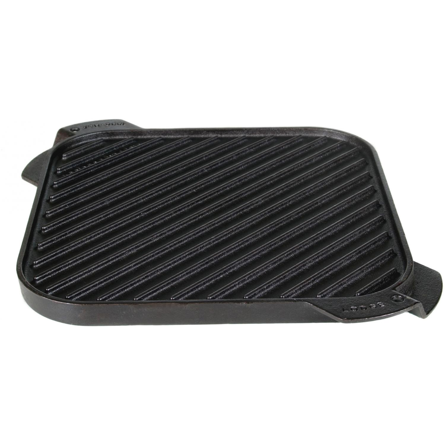 Lodge Griddles Logic 10.5 Inch Single Burner Reversible Cast Iron Griddle - LSRG3