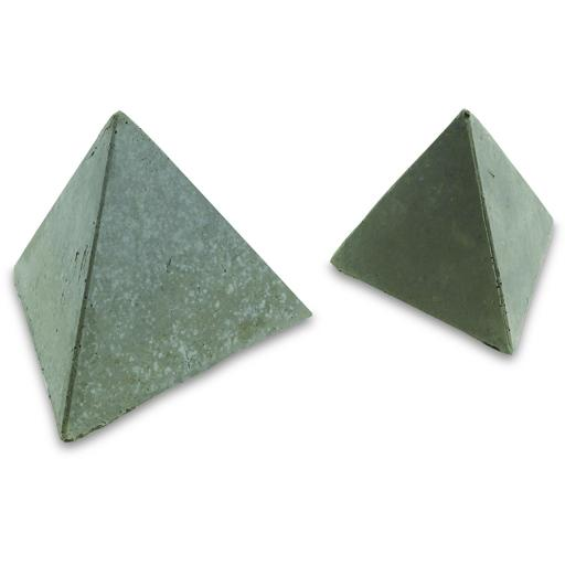 Peterson Gas Logs Decorative Geo Shapes Slate 3-Sided Geo Tetra Set - Set Of 4