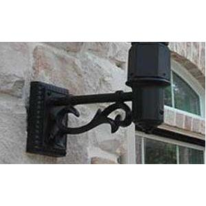 Gaslite America MB108 Cast Aluminum Decorative Rectangular Wall Mount
