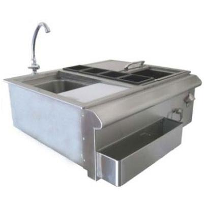 BeefEater 30 Inch Bar Center With Sink