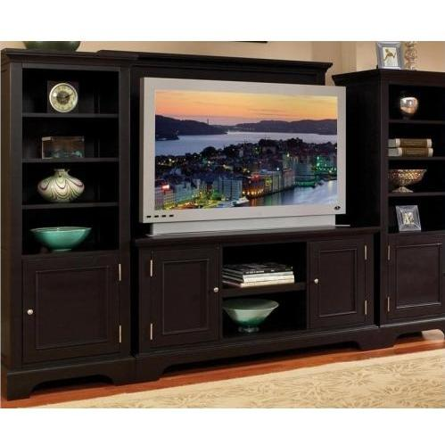 Home Styles Bedford 4 Piece Entertainment Unit - Ebony - 5531-44