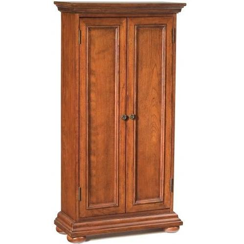 Home Styles Homestead Media Cabinet - Warm Oak - 5527-08