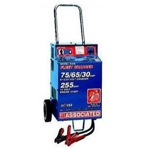 Associated Equipment Battery Charger 6/12/24 Volt - 75 Amp, 455 Amp Boost