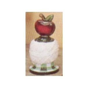 Old Dutch Hand Painted Apple Twine Holder