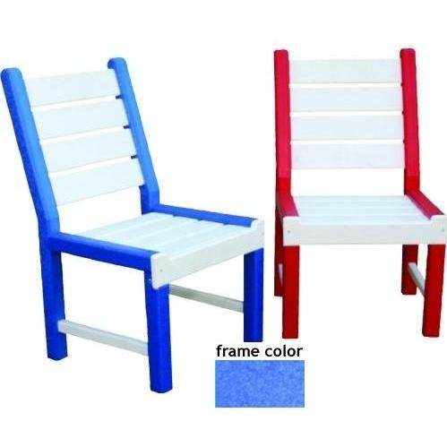 Eagle One Recycled Plastic Kids Chair - Blue