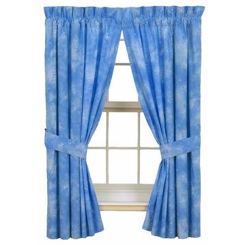 Karin Maki Window Curtain - Caribbean Coolers Sky Blue