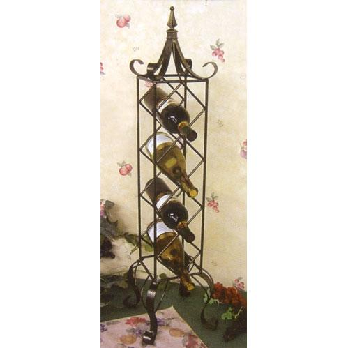 Bronze Verticle Wine Rack