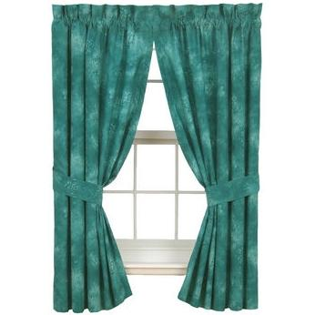 Karin Maki Window Curtain - Caribbean Coolers Turquoise