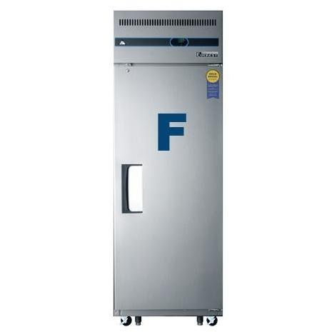 Everest ESF1 23.0 Cu. Ft. Capacity Single Solid Door Upright Reach-In Freezer - Stainless Steel
