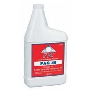 FJC PAG-46 - Synthetic PAG Refrigerant Oil For R134a; Quart Bottle