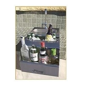 Alfresco 14 Inch Bartender With Sink - Built-in