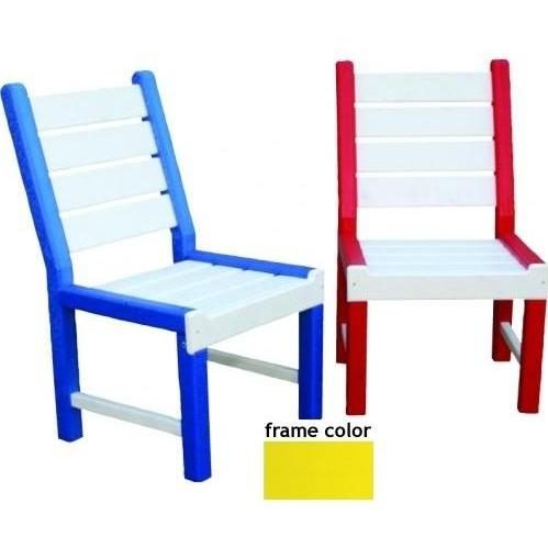 Eagle One Recycled Plastic Kids Chair - Yellow