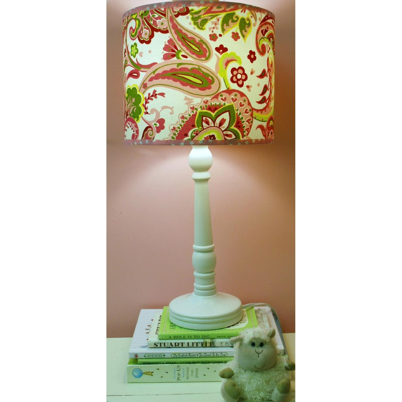 My Baby Sam Lamp - Pink Paisley Splash