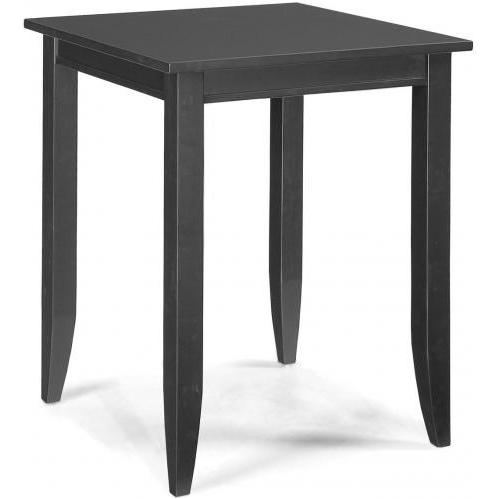 Home Styles Bedford Square Bistro Table - Ebony - 5531-35
