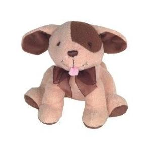 Patch Puppy Plush Rattle W/ Chime