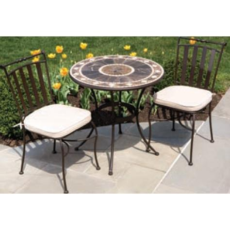 Alfresco Home Galileo 30 Inch Round Bistro Set