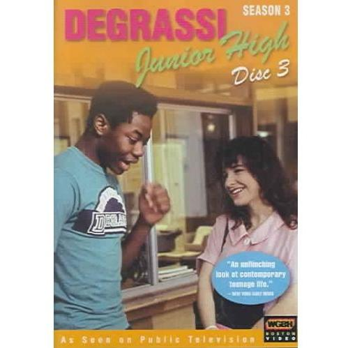 DEGRASSI JUNIOR HIGH:SEASON 3 DISC 3 (DVD)