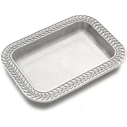 Wilton Armetale Laurelberry Rectangular Baker