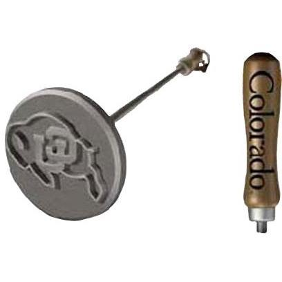 Sports Brand Deluxe Colorado BBQ College Branding Iron