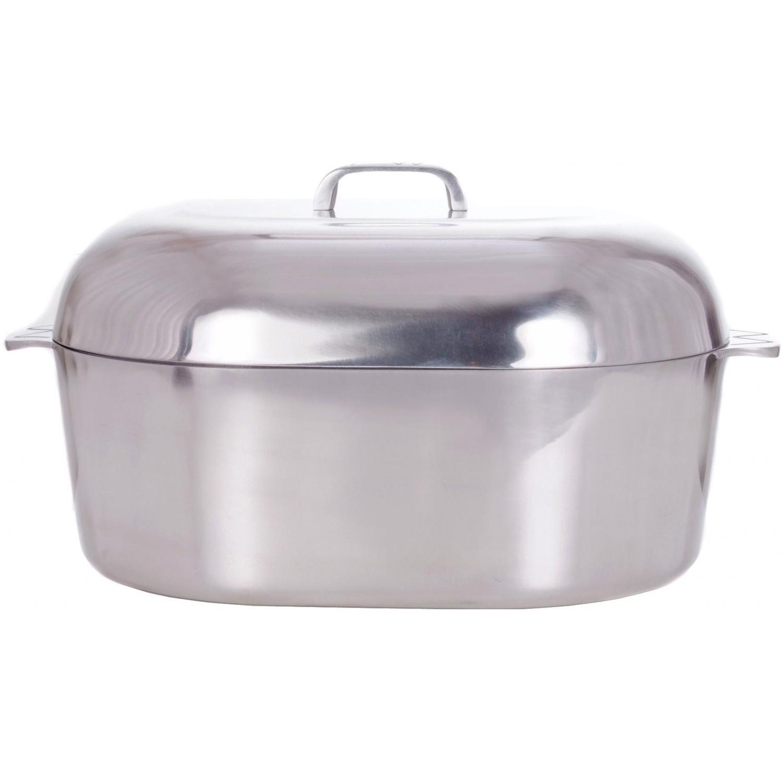 Cajun Cookware Roasters 18 Inch Aluminum Oval Roaster