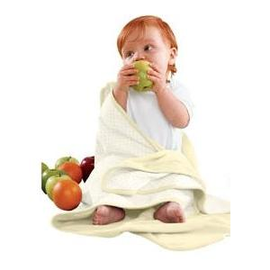 Apples & Oranges Jordan Baby Blanket - Banana Milkshake