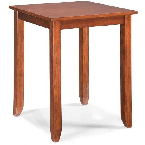 Home Styles Hanover 24 Inch Bistro Table - Cherry - 5532-35
