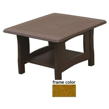 Eagle One Recycled Plastic Newport End Table - Cedar