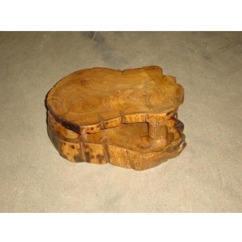 Groovy Stuff Teak Wood Teak Tinder Box Extra Large - WA-070-XL