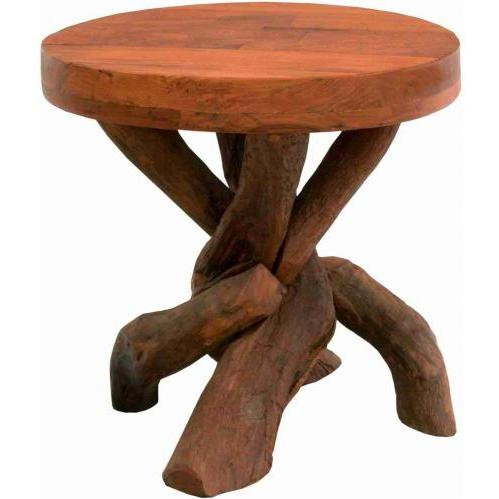 Groovy Stuff Teak Wood Rio Rancho End Table - TF-700