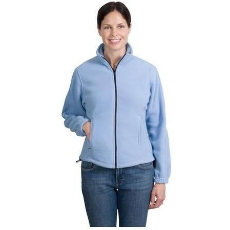 Port Authority Ladies R-Tek Full-Zip Fleece Jacket XL - Light Blue