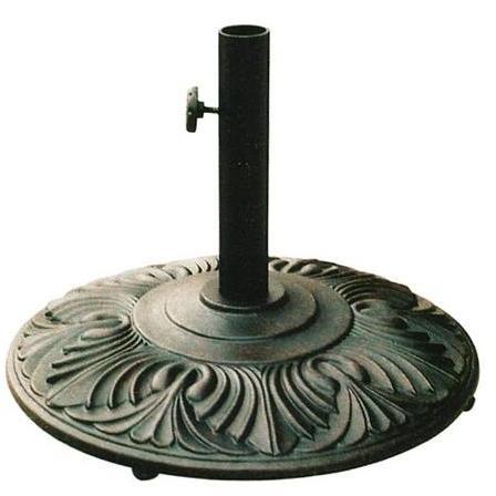 Darlee Amazon Cast Aluminum Outdoor Patio Umbrella Base - Antique Bronze