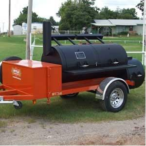 Horizon Smokers 30 Inch Double Door Trailer Smoker Grill