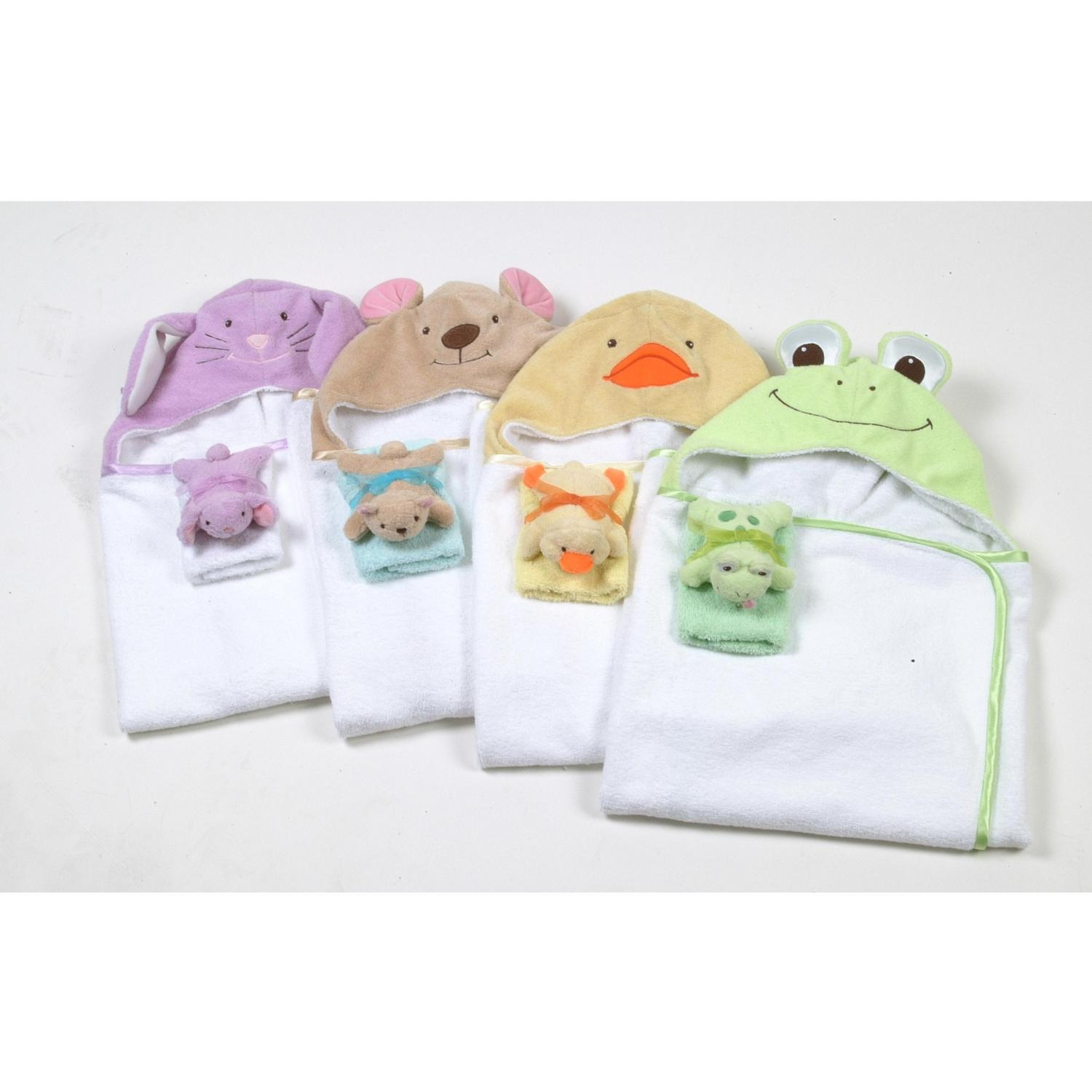 Animal Hooded Towel - Duck