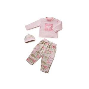 Elegant Baby Camo Fashion Set 6 Month - Pink