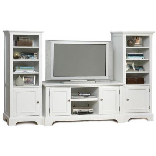 Home Styles Naples 3 Piece Entertainment Unit - White - 5530-34