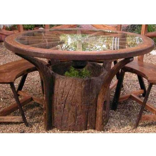 Groovy Stuff Jackson Hole Teak Wood Dining Table - TF-095