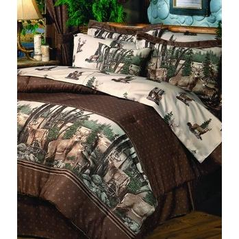 Blue Ridge Trading Whitetail Dreams Twin Comforter Bedding Set