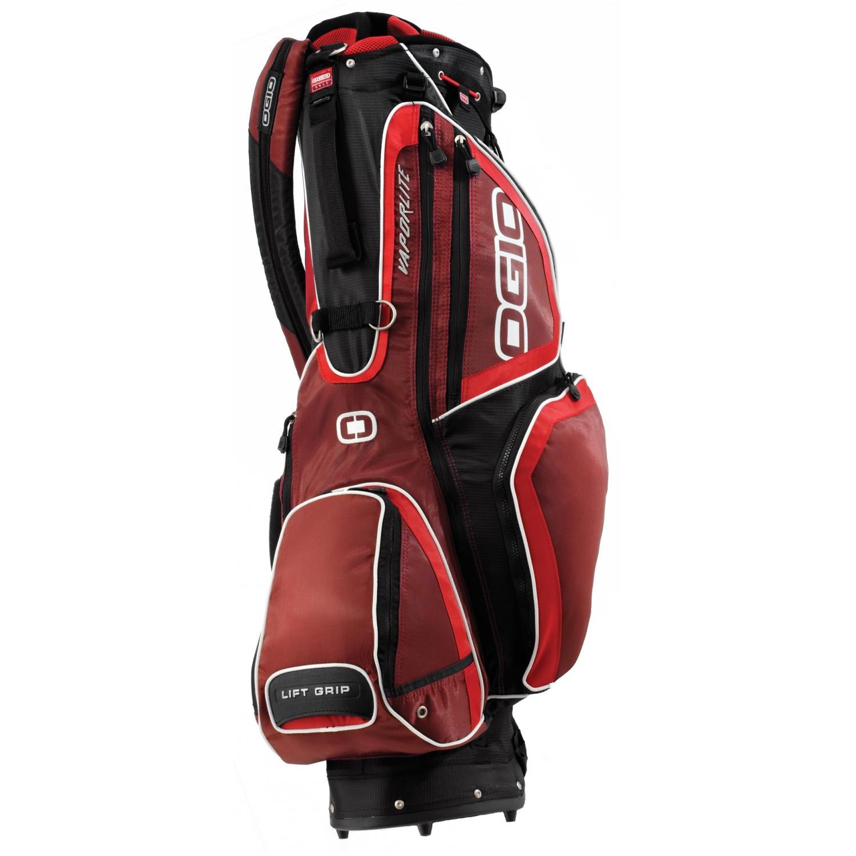 OGIO Vaporlite Stand Golf Bag - Garnet/Fire