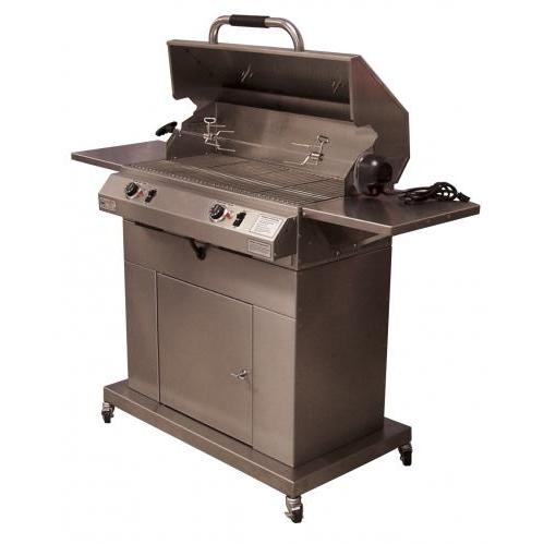 Electri-Chef 32 Inch Dual Control Closed Base Electric Grill