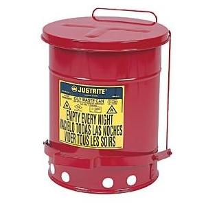 Just Rite 14 Gallon Oily Waste Can