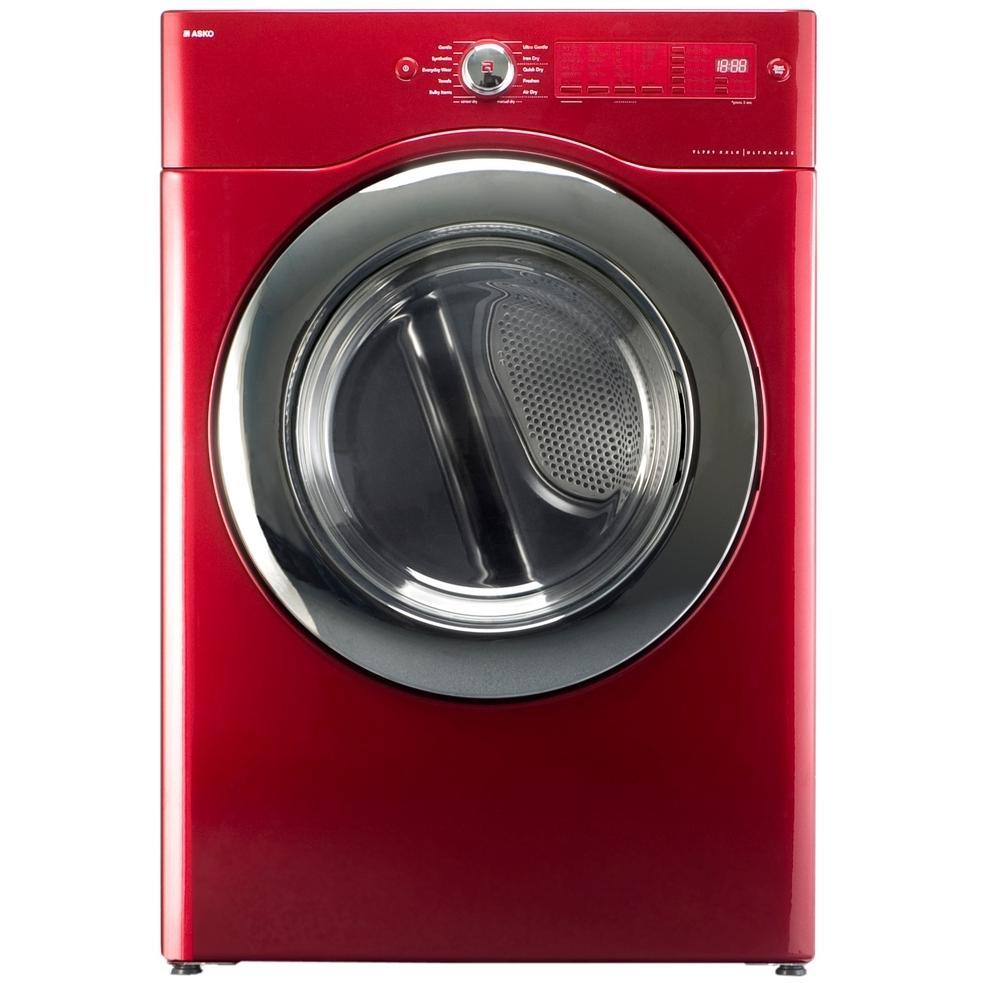 ASKO Dryer UltraCare XXL Capacity Electric Dryer - Ragin Red