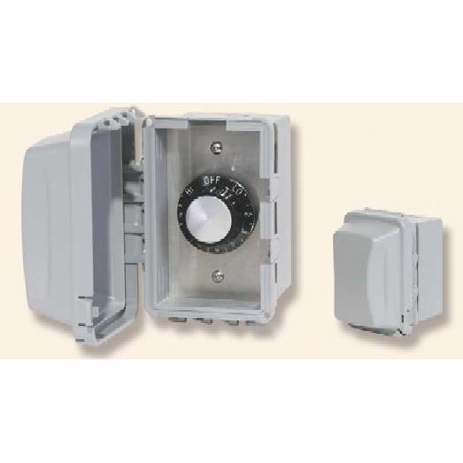 240V Input Regulator Stainless Steel Plate Deep Gang Box And Waterproof Cover