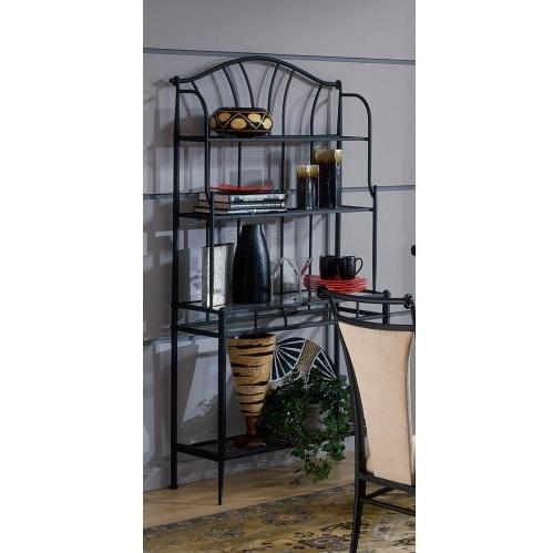 Hillsdale Mix N Match Bakers Rack - Black - 4592-850