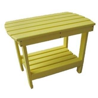 International Caravan Acacia Wood Side Table - Yellow - OL-005-YW