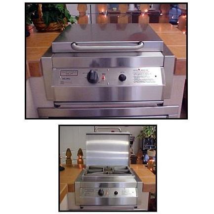 Texas Barbecues Cast Burner LP