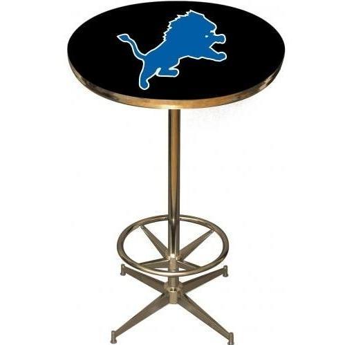 Imperial International Detroit Lions Pub Table