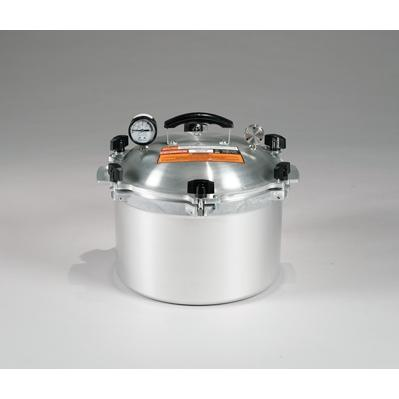 Chefs Design Cast Aluminum All-American Cooker/Canner With Rack - 15.5 Qt. Liquid Capacity